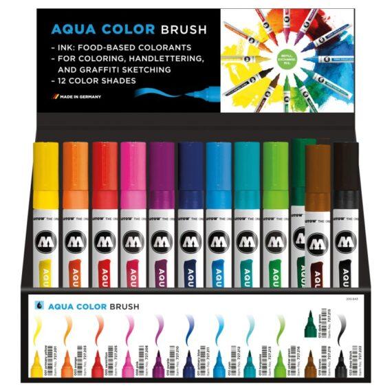 Aqua Color BrushDispay