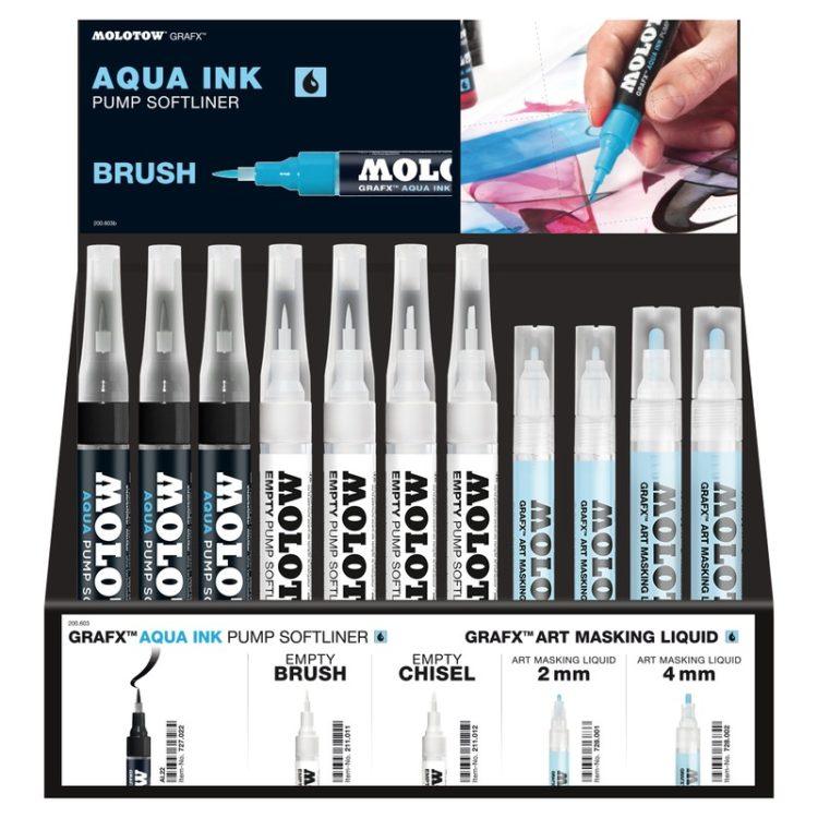 Aqua Display Set I+II 2