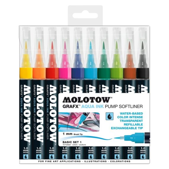 Aqua Ink Pump Softliner Basic-Set 1 10