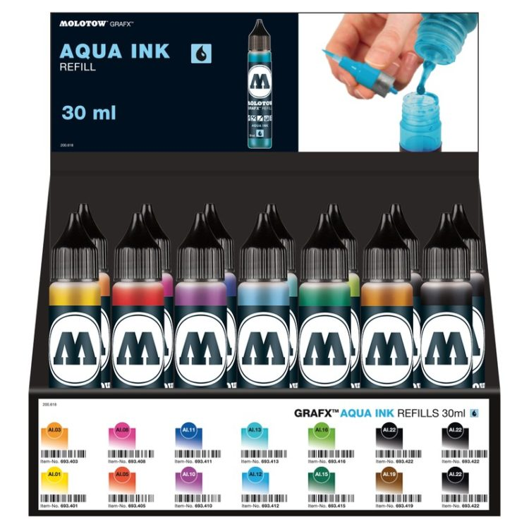 AQUA Refill Display Set Starter