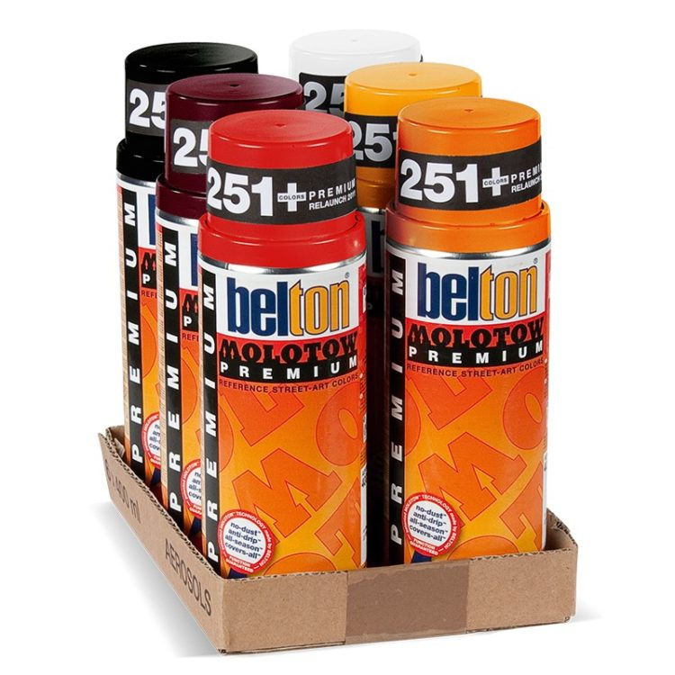 Belton Premium Red-Orange Pack 1