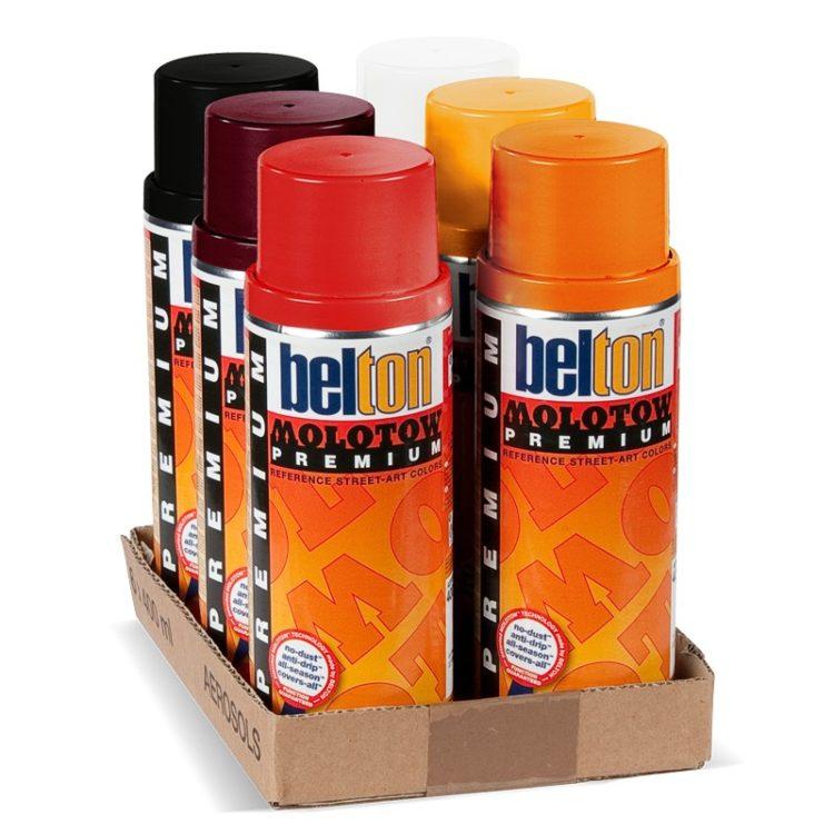 Belton Premium Red-Orange Pack 2