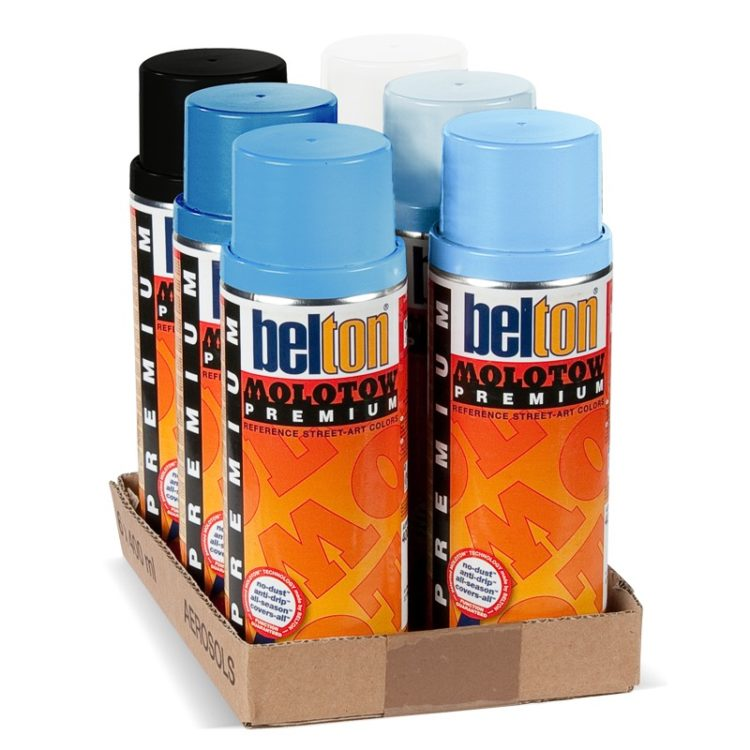 Belton Premium Shock Blue Pack