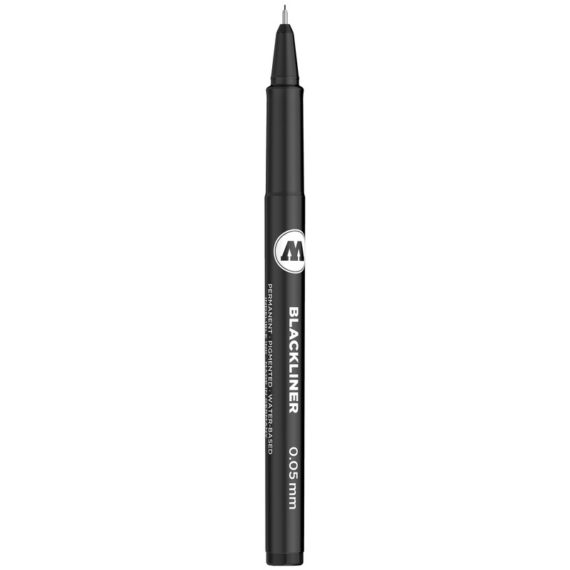 BLACKLINER 0.05 – 1 MM, CHISEL, ROUND – 0.05 mm
