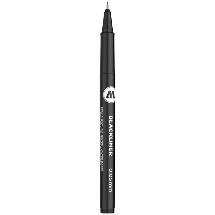 BLACKLINER 0.05 - 1 MM, CHISEL, ROUND - 0.05 mm