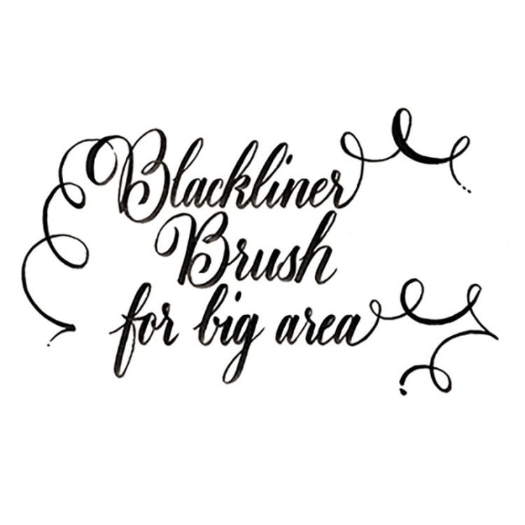 BLACKLINER BRUSH - example 2