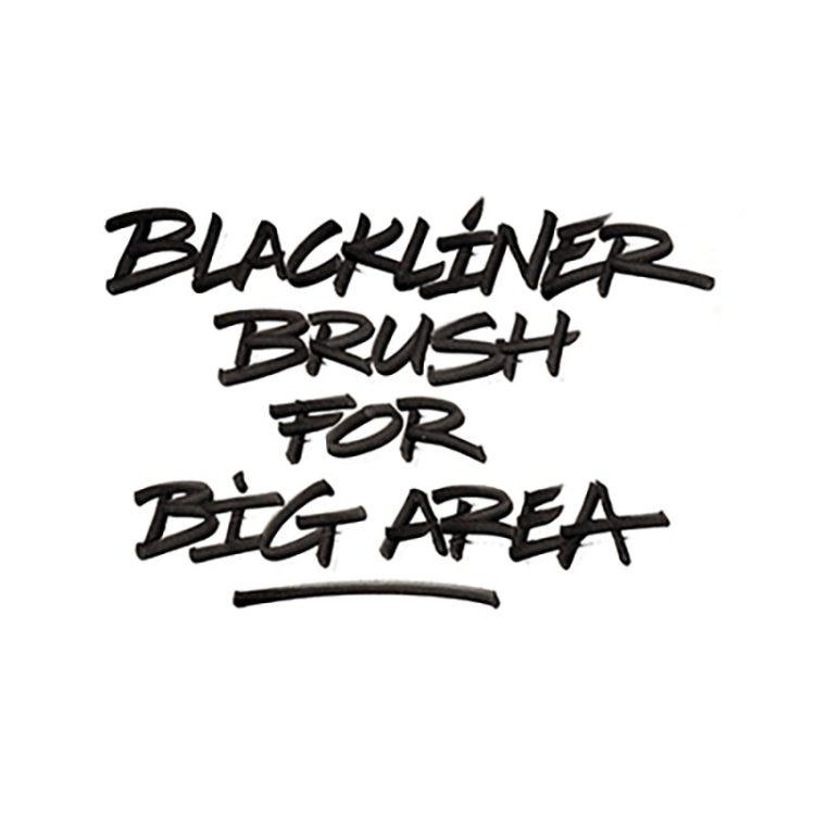 BLACKLINER BRUSH - example 3