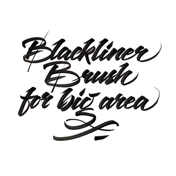 BLACKLINER BRUSH - example 4