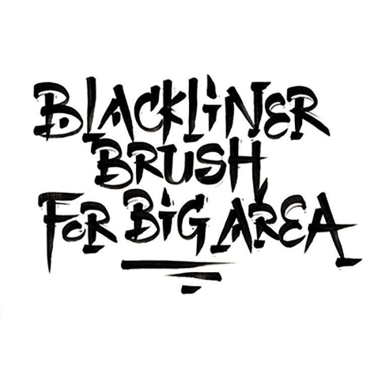 BLACKLINER BRUSH - example 5