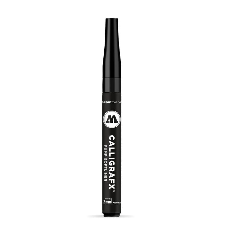 Calligrafx Pump Softliner 2 mm - close