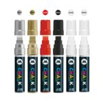 Chalk Marker Basic-Set 1 (15 mm) 2