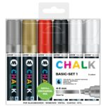 Chalk Marker Basic Set 1 (4-8 mm)