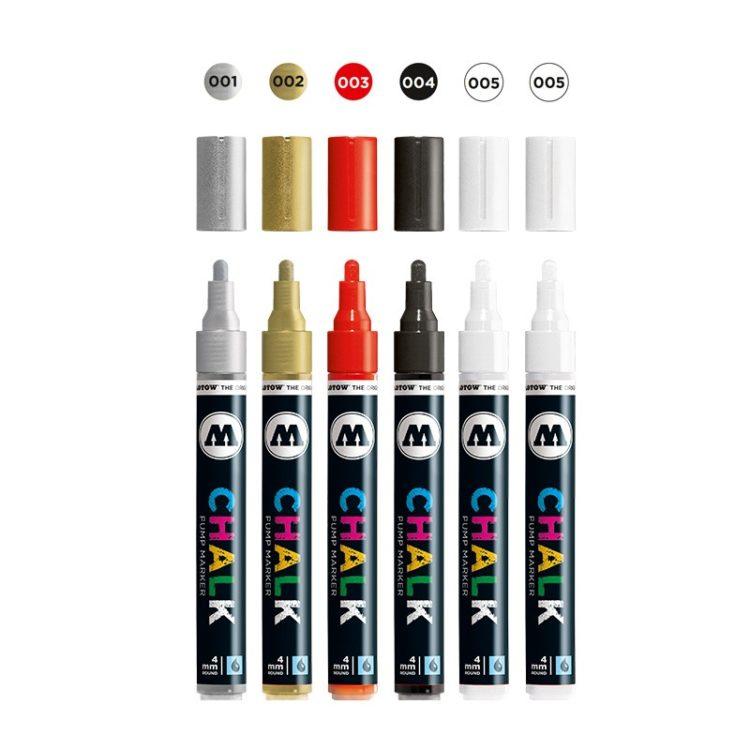 Chalk Marker Basic-Set 1 (4 mm) 2