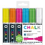 Chalk Marker Neon-Set (4-8 mm)
