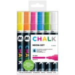 Chalk Marker Neon-Set (4 mm)