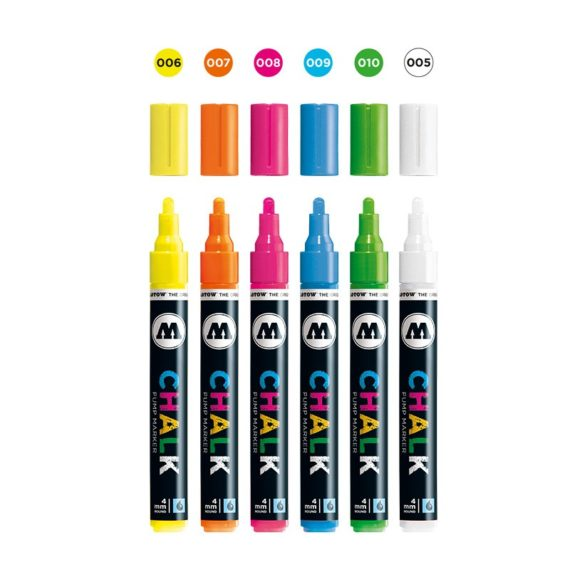 Chalk Marker Neon-Set (4 mm) 2