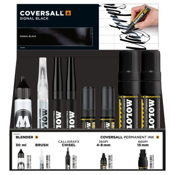 Coversall Display Set Marker Collection