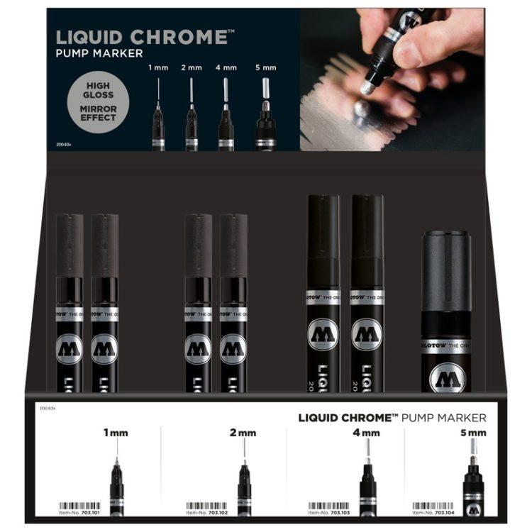 Liquid Chrom Pump Marker Display