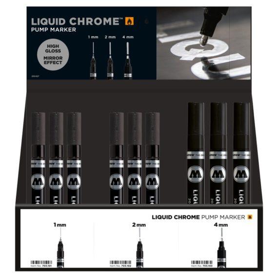 Liquid Chrome Display Set Complete