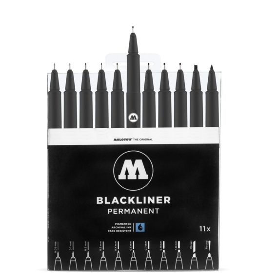 BLACKLINER Complete Set - open