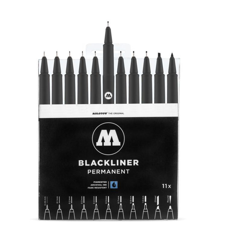 BLACKLINER Complete Set - open