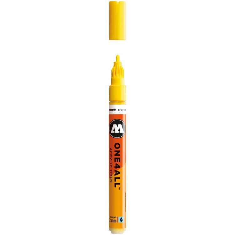 ONE4ALL™ 127HS 2 mm - zinc yellow - open
