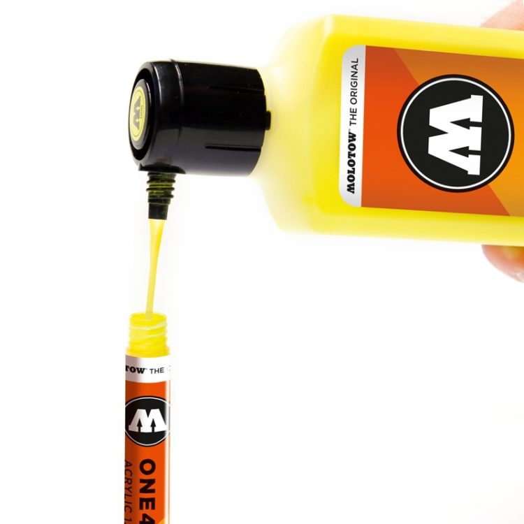 ONE4ALL™ 127HS-CO 1,5 mm - zinc yellow - example 2