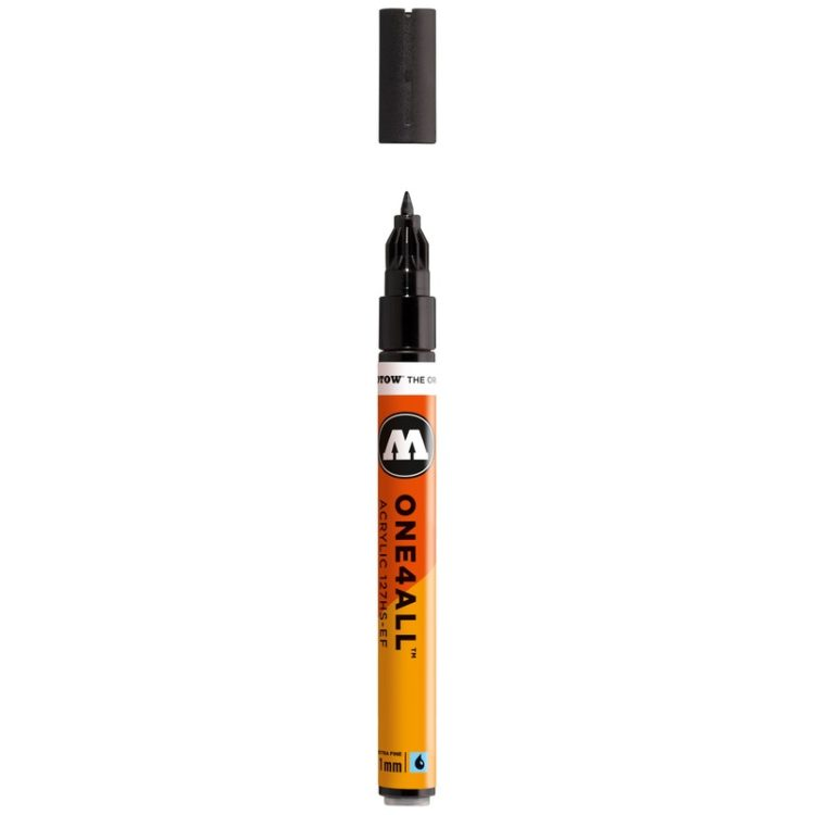 ONE4ALL™ 127HS-EF 1 mm - signal black - open