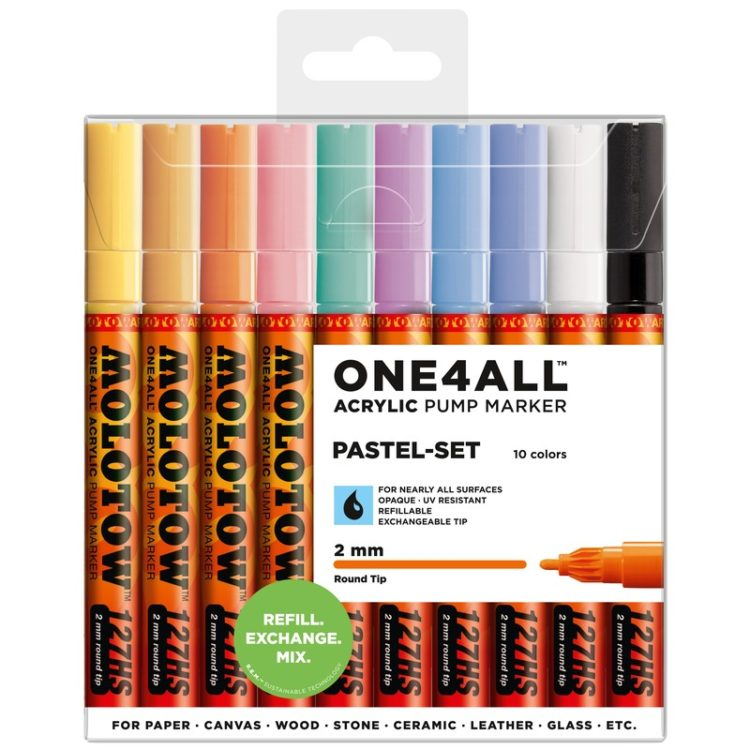 ONE4ALL™ 127HS Pastel-Set