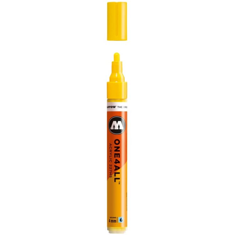 ONE4ALL™ 227HS 4 mm - zinc yellow - open