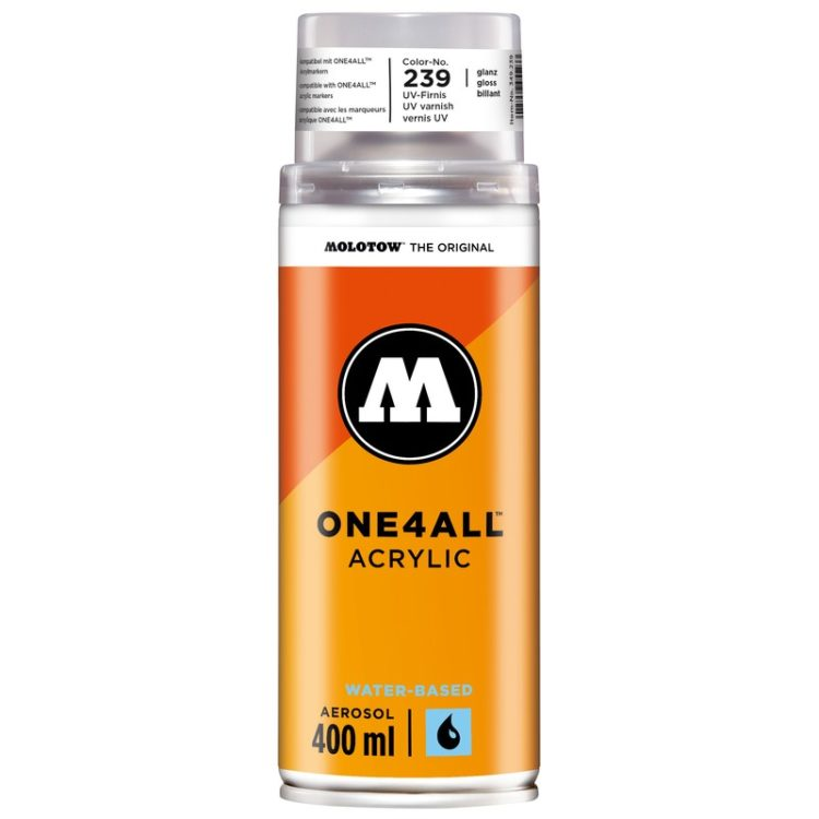ONE4ALL™ Acrylic Spray 400 ml - clear coat gloss