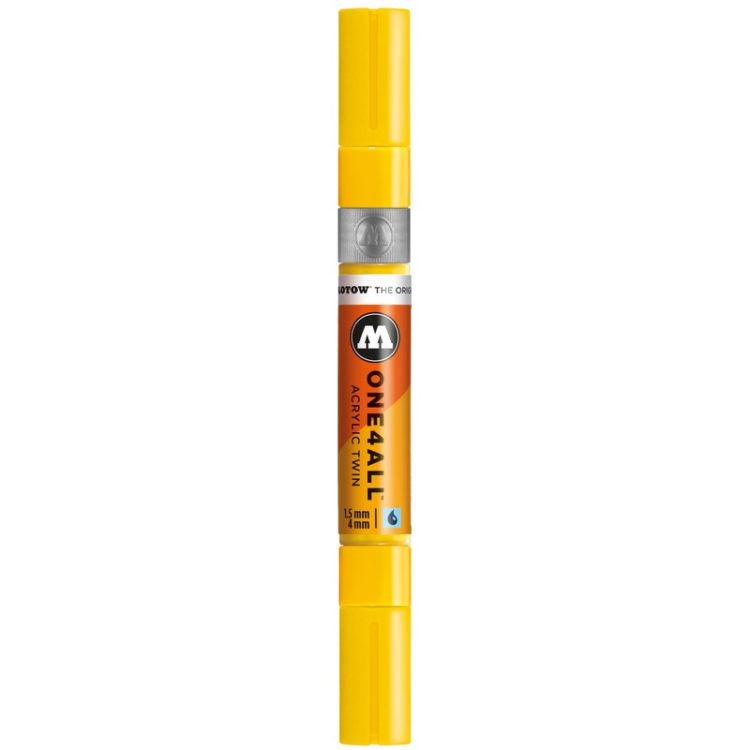 ONE4ALL™  Acrylic Twin 1,5 - 4 mm - zinc yellow - close