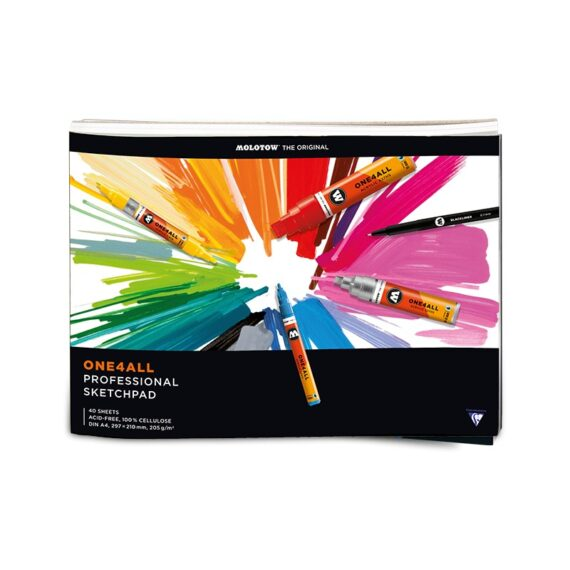 One4all Professional Sketchpads A4