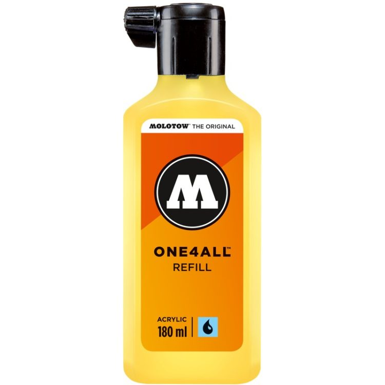 ONE4ALL™ Refill 180 ml - zinc yellow