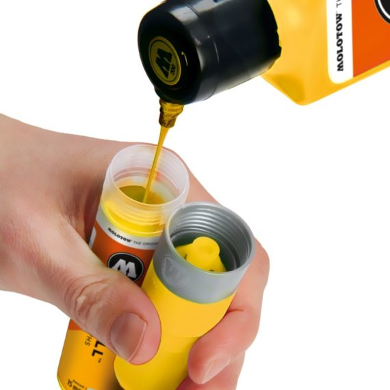 ONE4ALL™ Refill 180 ml - zinc yellow - example 1