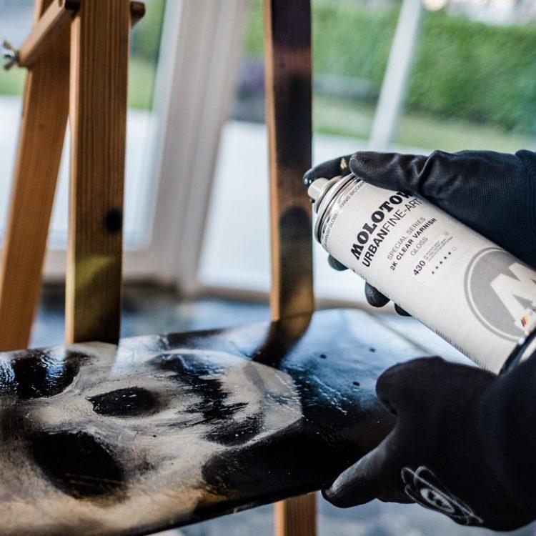 Urban Fine-Art™ 2K Clear Varnish gloss 400ml - example