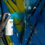 Urban Fine-Art™ Artist Acrylic - signal white * - example 1