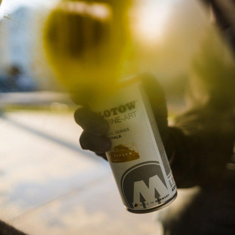Urban Fine-Art™ Chalk - yellow - example