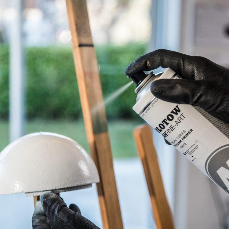 Urban Fine-Art™ Styrofoam Primer - example