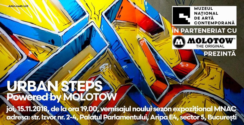 URBAN STEPS – Vernisaj MNAC Molotow
